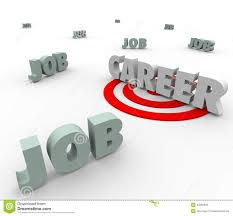 i want a job vs career choose work opportunity royalty stock career word vs jobs work opportunity future path stock photography