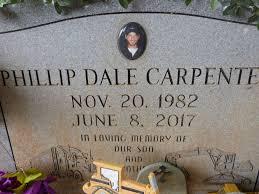 Phillip Dale Carpenter (1982-2017) - Find A Grave Memorial