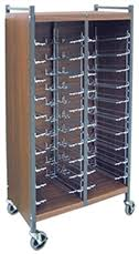 Medical Chart Carts With Vertical Racks Medical Chart Carts