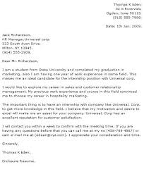 Cover Letter For Computer Science Cover Letter For Internship For Computer Science Student Sample