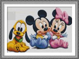 Free Minnie Mouse Cross Stitch Chart Designer Thomas