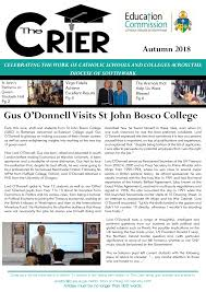 Gus O'Donnell Visits St John Bosco College