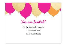 Birthday Invitation Online Under Fontanacountryinn Com