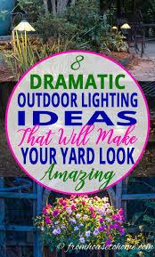 outdoor lighting effects. Landscape Lighting Effects Outdoor