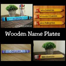 personalized desk name plate for teachers gift for teachers name plate for desk teacher gift wooden name