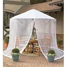 patio umbrella mosquito net by simple