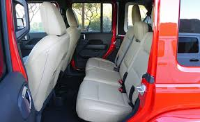 2018 jeep wrangler jl sahara tan leather rear seat