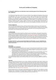 Website Terms And Conditions Template Inspiration Website Terms And Conditions Template Shatterlion
