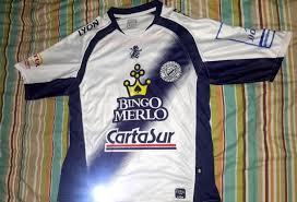 Deportivo Merlo Home Camiseta de Fútbol 2012.