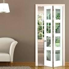 interior folding doors internal glazed bi fold doors white primed door clear safety glass
