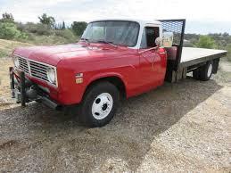 1973 INTERNATIONAL 1310, 14' FLATBED w/ LIFTGATE, CA. Truck, w/ NO ...