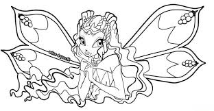 Small Picture Winx club coloring pages aisha enchantix ColoringStar