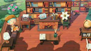 Enter the creator or design code in the custom designs kiosk inside the able sisters shop. Coffee Shop Library Animal Crossing New Horizons Animal Crossing Cafe Animal Crossing Coffee Animal Crossing Qr