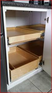 Blind Corner Cabinet Pull Out Shelves How To Install A PullOut Kitchen Shelf Kitchen Shelves Shelves 65