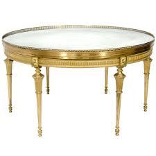 ... Circular Antique French Xvi Style Gilt Bronze Mirror Top Coffee Table 1  Glass For Interior Design ...