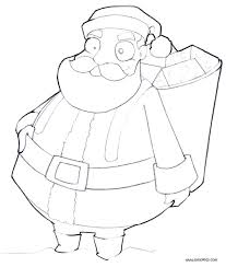 Christmas List Coloring Page With Gifts With Gifts Coloring Page