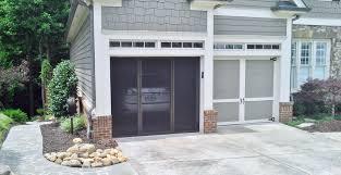 Garage Screen Doors Home Design By Larizza 10 X 7 Door With Windows ...