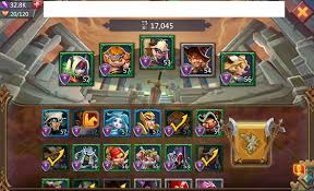 Lords Mobile Monster Hunt Hero Chart Lords Mobile