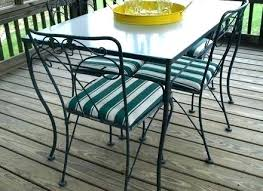 vintage wrought iron glass top table chairs rod and outdoor dining wrought iron dining chairs nz