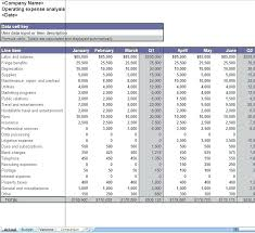 expense spreadsheet for business operating expense template business expenses excel worksheet