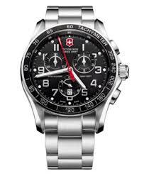 victorinox swiss army watch men s chronograph classic xls victorinox swiss army watch men s chronograph classic xls stainless steel bracelet 241443 watches jewelry watches macy s