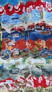 this is what I want to do with my Dads Hawaiian shirts ... & Hawaiian shirt Quilt Adamdwight.com