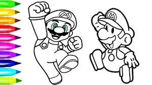 photo coloring page. Wonderful Coloring Super Mario Coloring Pages  Nintendo Page For Kids Throughout Photo