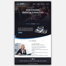 Kg Design Services Modern Professional Web Design For Hb Internetservice Gmbh