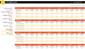 workout excel templates workout routine excel under fontanacountryinn com