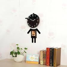 8 wall clock cartoon wall clock pictures characters of wooden craft clocks recycled art nursery wall 8 wall clock