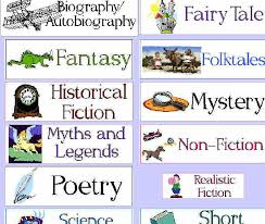 66 Explanatory Childrens Literature Genre Chart