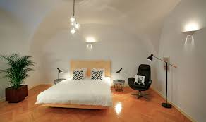 ... Bedroom with Vaulted Ceiling ...