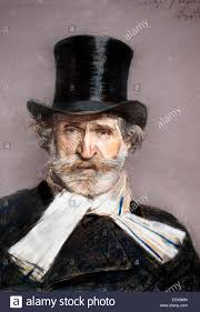 Giuseppe Fortunino Francesco Verdi 1813 - 1901 ( compositore romantico  conosciuto soprattutto per le sue opere ) 1886 Giovanni Boldini 1842-1931  Italia Italiano Foto stock - Alamy