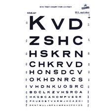 Graham Field Illuminated Snellen Eye Chart