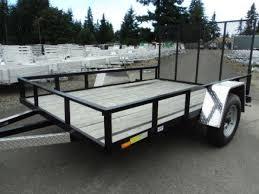 1992 morgan built 2 horse straight load trailer horse usa 2016 cargo mate 6 5x12 flat deck 12 tall rail utility trailer
