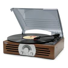 3 sd stereo turntable with am fm stereo radio
