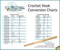 Steel Crochet Hook Conversion Chart Crochet Hook Sizes Mincifine Fr