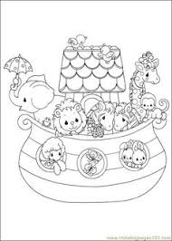 precious moments 05 noah s ark larger image on file coloring pages