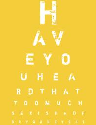 How To Make An Eye Chart Poster Fancy Eye Chart Maker Create Custom Eyecharts Online