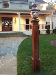 Lamp Post Decoration Ideas Landscaping Exterior Mailbox Idea With