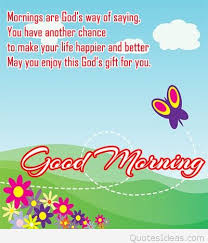 Cartoon Good Morning Quotes