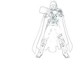 Thor Printable Coloring Pages Hammer Coloring Pages Coloring Pages