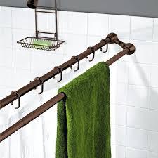 best shower curtain rod double rod shower curtain best shower curtain rods ideas on farmhouse shower