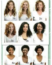 Curl Type Chart Devacurl Hair Types Chart Google Search Capelli Ricci Naturali