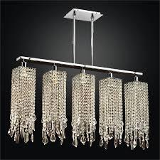 modern linear chandelier chelsea 645mm5lsp 7