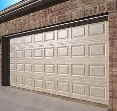 raised panel style fibergl garage door