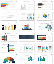 Data Linked Vivid Infographics