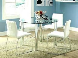 medium size of small round table dinette set circle kitchen semi glass dining marvellous room sets