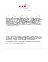Resignation Letter Format For Insurance New Examples Of Resignation ...