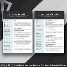 2020 Ms Word Resume Template Cover Letter And References Templates Resume Fonts And Icons Resume Editing Guide Digital Instant Download The